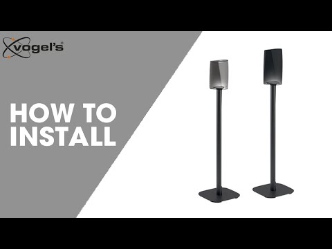 How To install SOUND 5313 | speaker stand | Vogel's