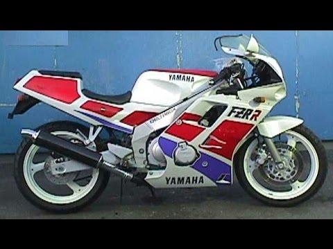 Yamaha FZR 250 exhaust sound compilation