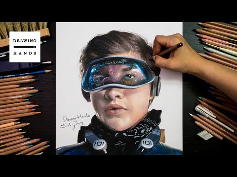 Drawing Ready Player One-Wade Owen Watts(Parzival) [Drawing Hands][Drawing Hands]