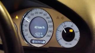 Mercedes E420 CDI dyno run 393hp/925nm @Kleemann HQ