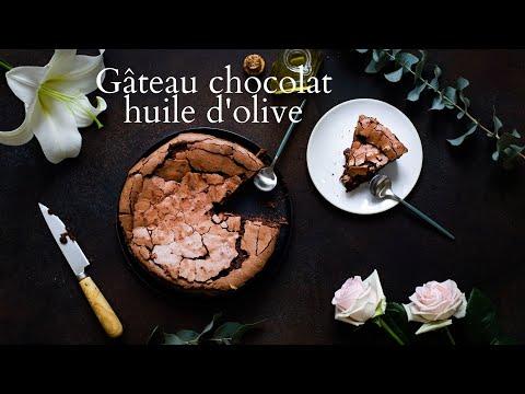 gâteau-italien-au-chocolat-et-à-l'huile-d'olive