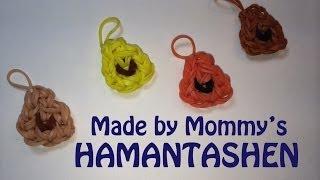 Rainbow Loom Charm:  Hamentashen Cookies For Purim