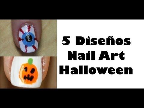 U as halloween 5 dise os de u as para halloween - Adornos de halloween ...