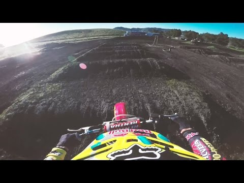 Roczen Ripping on McGrath's '96 Honda