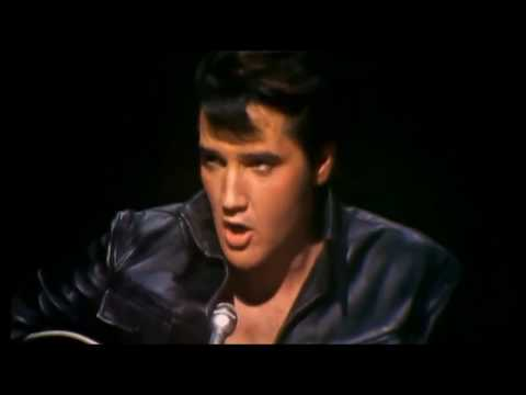 Elvis Presley Blue Christmas Live `68 HD