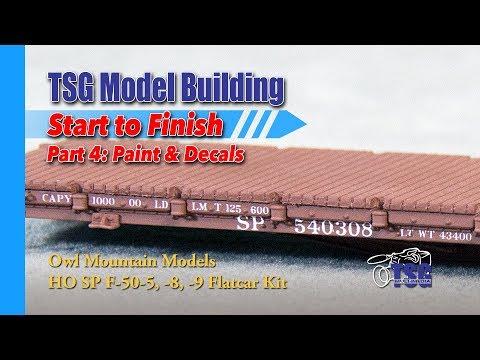 Model Building HO Scale Owl Mountain Flatcar Kit 4 of 5