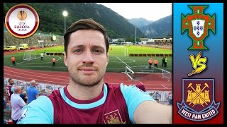 LUSITANOS VS WEST HAM IN ANDORRA! - EUROPA LEAGUE 2015/16