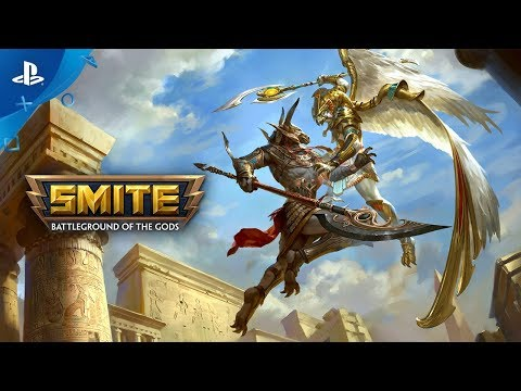Smite - Horus and Set Reveal Trailer   PS4