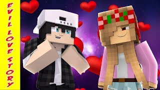 RAVEN FALLS IN LOVE WITH EVIL LITTLE KELLY - Minecraft ROYAL FAMILY