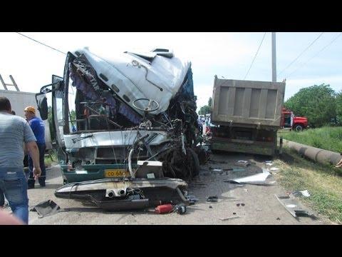 Грузовики - Страшные аварии в 2014