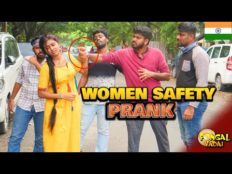 Are Women Safe in India? - SOCIAL EXPERIMENT (With English Subtitles) | PongalVadai