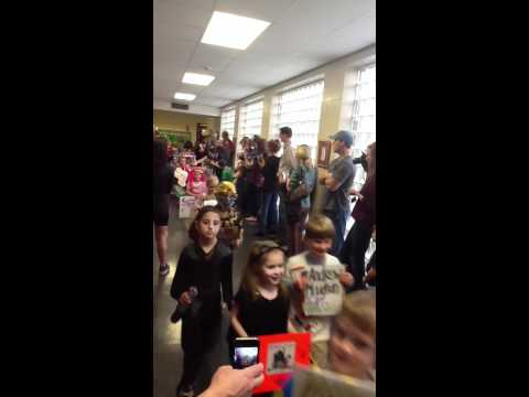 Verner elementary school book parade