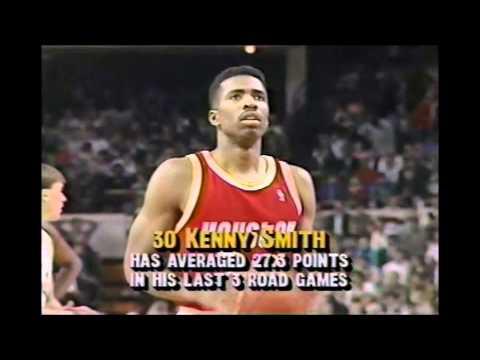 Kenny Smith (25 Points) Vs Michael Jordan (34 Points) 3-25-1991