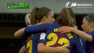 Barcelona 5-0 Levante, Liga Femenina Iberdrola