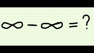Why infinity minus infinity is indeterminate?