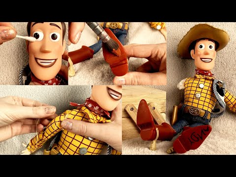 ASMR Woody Repair Toy Story (Whispered)