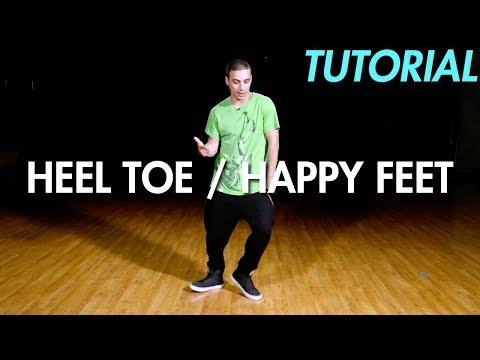 How to do the Heel Toe / Happy Feet (Dance Moves Tutorial) | Mihran Kirakosian