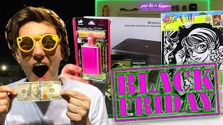 $100 Black Friday Shopping Challenge