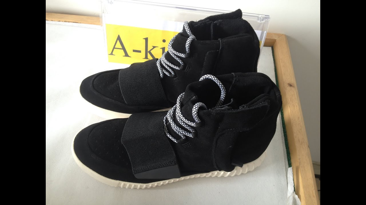 Authentic Adidas Yeezy boost 750 black on sale HD review from *A-kicks.ru*  - YouTube