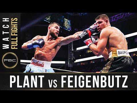 Калеб Плант – Винсент Файгенбутц / Plant vs. Feigenbutz