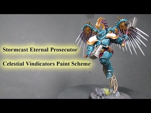 How to Paint Age of Sigmar - Stormcast Eternal Prosecutor.