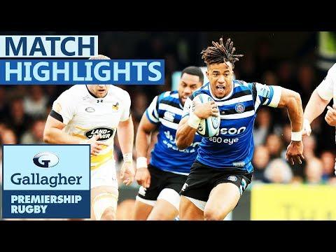 Bath 29-17 Wasps | Bath Secure Vital Bonus Point | Gallagher Premiership - Highlights