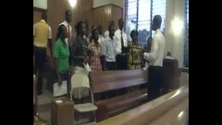 byu pathway ghana choir rehearsal for da na se