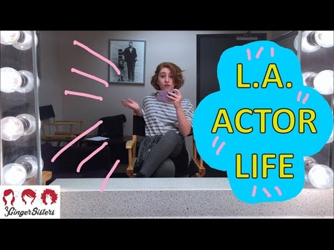 A Working Actor In Los Angeles- A Week in the Life! // 3 Ginger Sisters