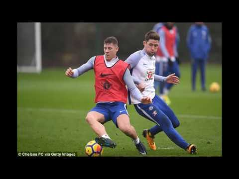 Ross Barkley trains alongside Chelsea stars on eve of clash with Leicester