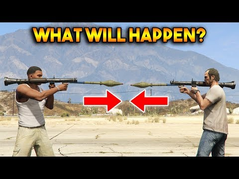 GTA 5 ONLINE : RPG VS RPG (WHAT WILL HAPPEN?)