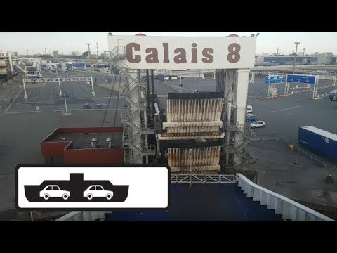 Calais, France To Dover, UK (Ferry Crossing)