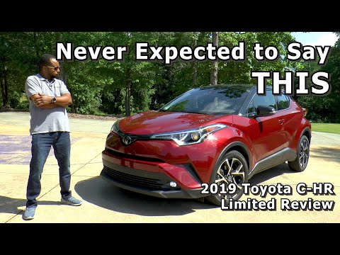2019 Toyota C-HR Limited Review - Never Expected to Say THIS
