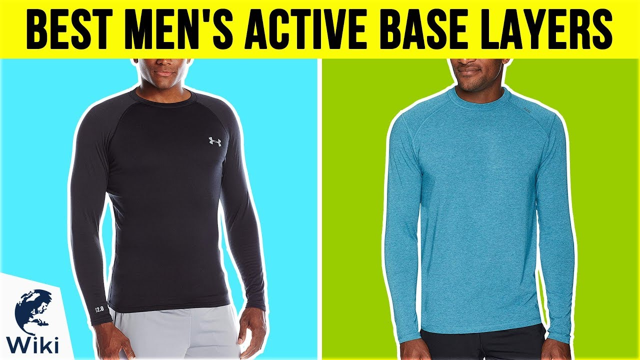 10 Best Men's Active Base Layers 2018 - YouTube