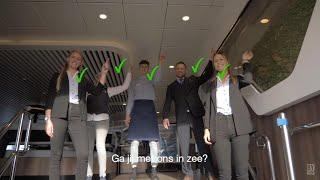 Wervingsvideo Horeca personeel Rederij Doeksen