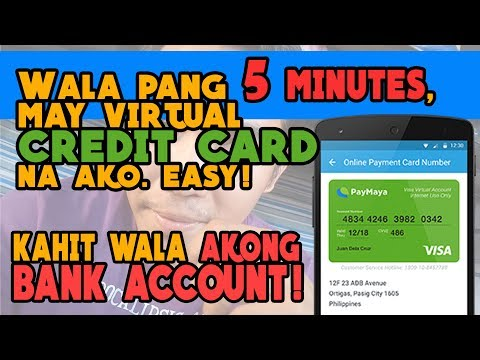 Paano Magkaroon Ng Virtual Credit Card In Less Than 5