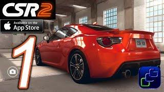 CSR Racing 2 iOS Walkthrough - Gameplay Part 1 - Crew Battle, 1 Ladder, Live, Tutorials