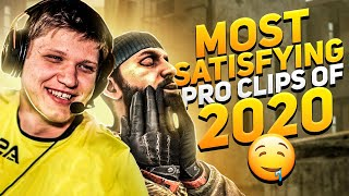 MOST SATISFYING CS:GO PRO CLIPS OF 2020 SO FAR!