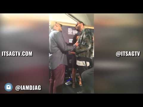 Joyner Lucas Confronts Sway at 2015 BET...