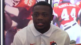 TigerNet.com - Artavis Scott says lack of touches is frustrating but he is team player