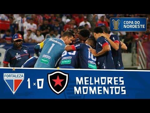 Fortaleza 1 x 0 Botafogo   Gol e melhores momentos   Final da Copa do Nordeste 2019   Jogo de ida