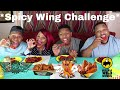 BW3 Blazin and Wing Stop Atomic Wing Challenge  ⚠ HOT Stuff!