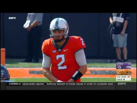 2017 - TCU Horned Frogs at Oklahoma State Cowboys in 40 Minutes