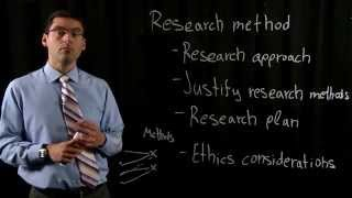Thesis writing - Research method section(Quick tips on what someone needs to include in the Research Method section of an academic Thesis., 2015-09-22T03:44:15.000Z)