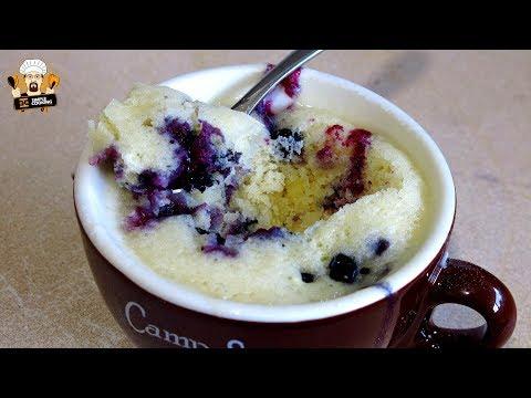 BLUEBERRY MUFFIN MUG CAKE RECIPE
