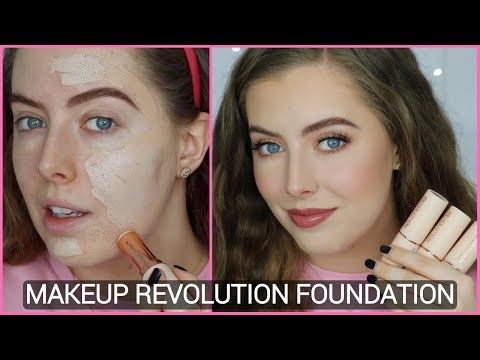 Makeup Revolution Fast Base Stick Foundation First Impression Review & Demo | Beauty District