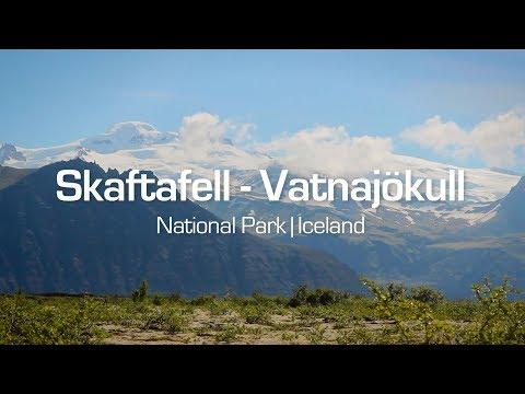 Skaftafell in Vatnajökull National Park Iceland