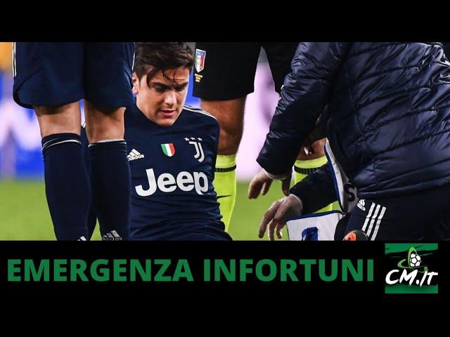 Juventus, EMERGENZA infortuni | Le condizioni di Dybala e McKennie