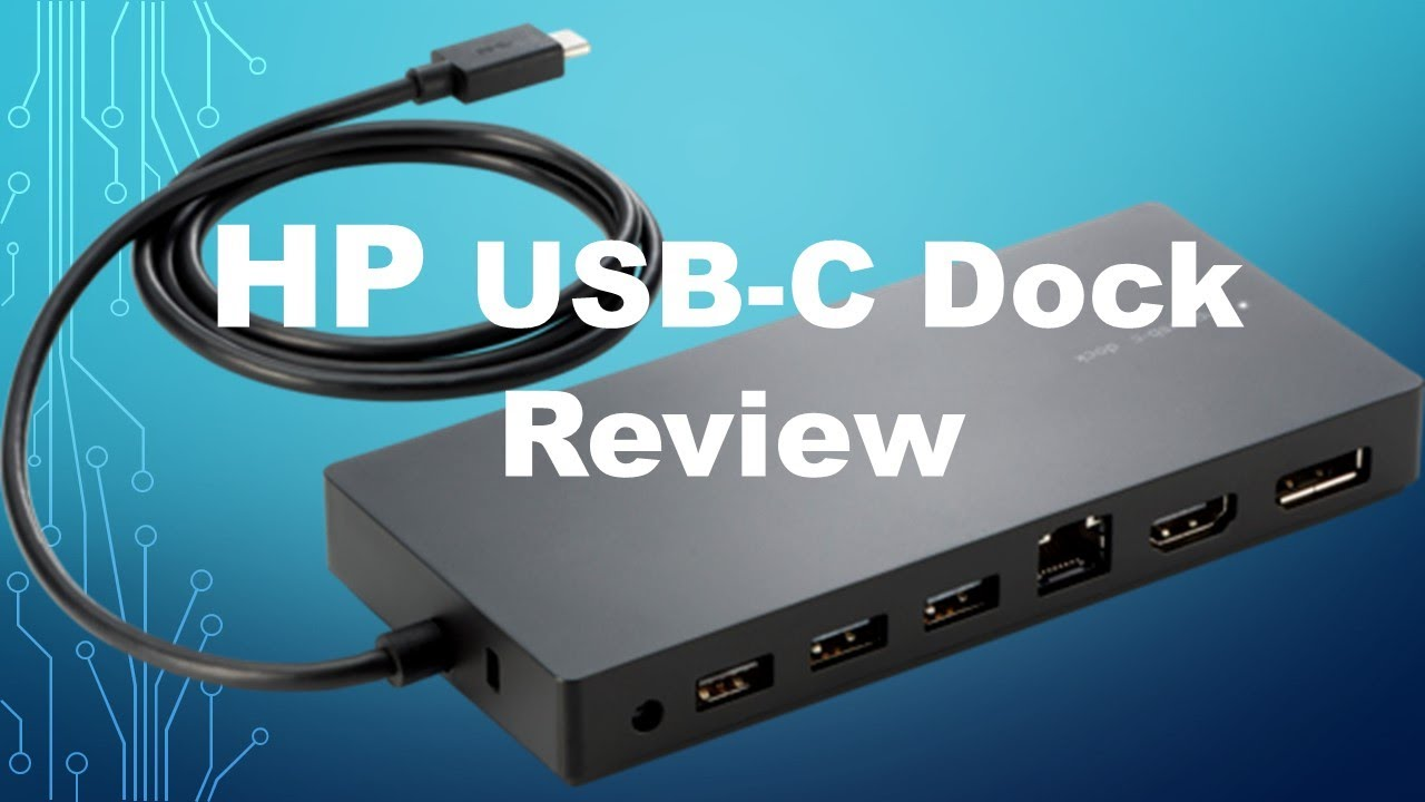 hp usb c dock drivers