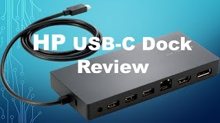 hp usb c dock review