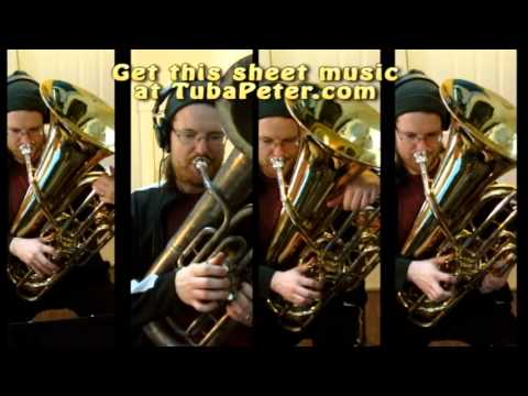 Mission Impossible cover for Tuba Quartet + sheet music